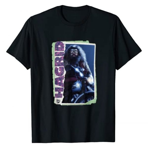 Harry Potter Graphic Tshirt 1 Rubeus Hagrid Photo Collage T-Shirt