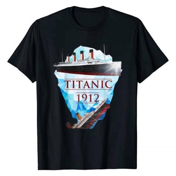 Shark's Friend Graphic Tshirt 1 Vintage Titanic Tshirt Voyage RMS Titanic 1912 T-shirt