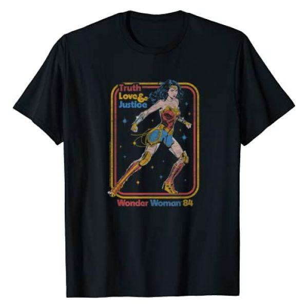 Wonder Woman Graphic Tshirt 1 1984 Retro Justice '84 T-Shirt