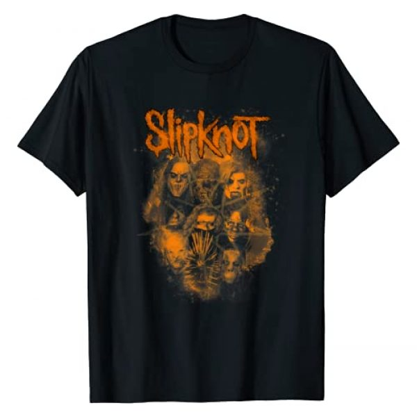 Slipknot Graphic Tshirt 1 Official We Are Not Your Kind Orange T-Shirt