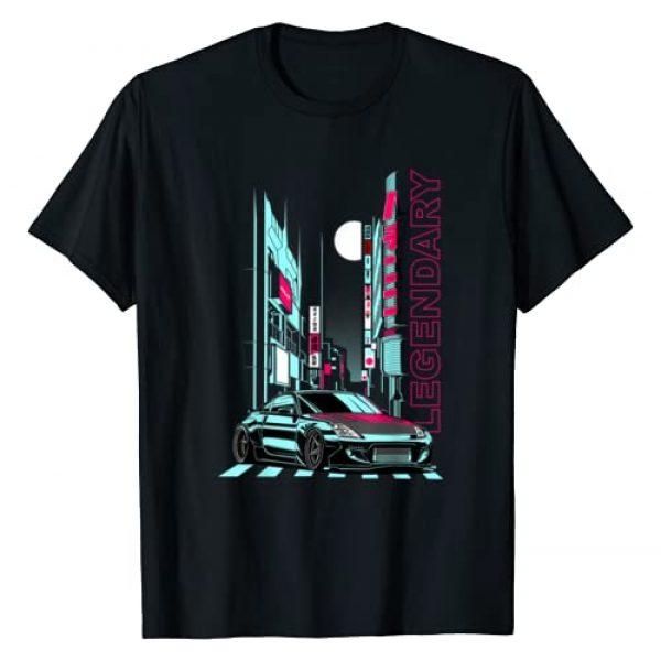 Automotive Apparel 1 Graphic Tshirt 1 JDM Legend Retro Gaming Racecar Tuning Car T-Shirt