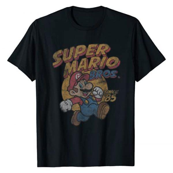 SUPER MARIO Graphic Tshirt 1 Bros. Since '85 Vintage Poster T-Shirt