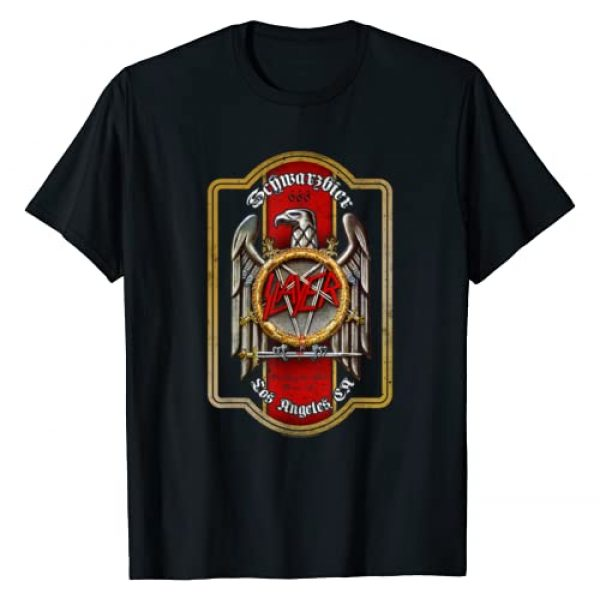 Slayer Official Graphic Tshirt 1 Slayer Beer Label T Shirt T-Shirt