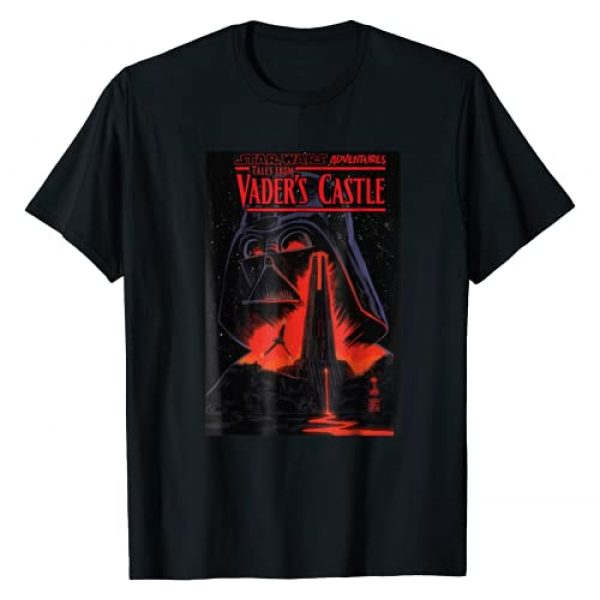 Star Wars Graphic Tshirt 1 Vaders Lava Castle Comic Cover Graphic T-Shirt