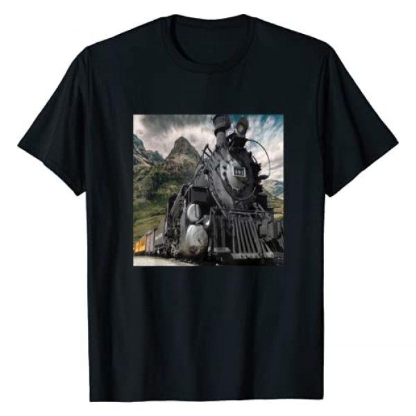 Rail Transport Vehicle T-Shirts Graphic Tshirt 1 Train Steam Engine T Shirt