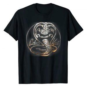 Cobra Kai Graphic Tshirt 1 Rusted Steel Snake Logo Graphic T-Shirt