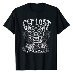 "Aggretsuko Graphic Tshirt 1 ""Get Lost"" Rage Tee Shirt"