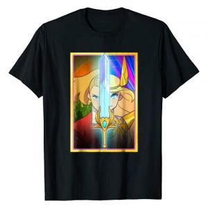 DreamWorks She-Ra and the Princess of Power Graphic Tshirt 1 DreamWorks She-Ra Adora Character Split T-Shirt