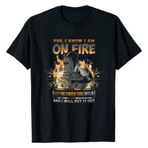 Funny Welder Pun Gift Shirts Graphic Tshirt 1 Welder Funny Saying Welding For Men Gift T-Shirt