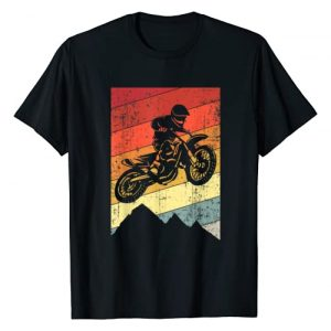 Dirt Bike Motocross by Soneparrel Graphic Tshirt 1 Motocross Bike Vintage Dirtbike Gift Racing Retro Dirt Bike T-Shirt