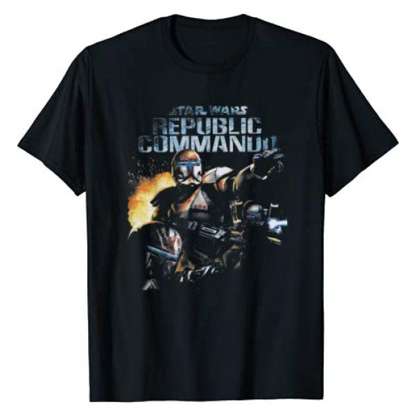 Star Wars Graphic Tshirt 1 Republic Commando Video Game T-Shirt