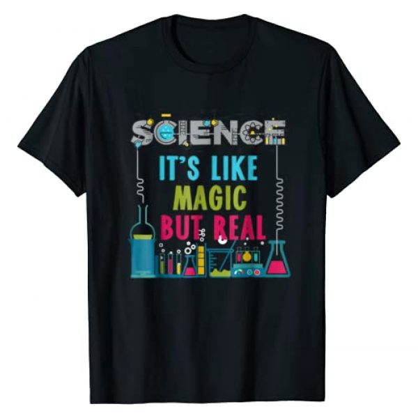Photo-Fly Graphic Tshirt 1 Science It's Like Magic But Real T-Shirt