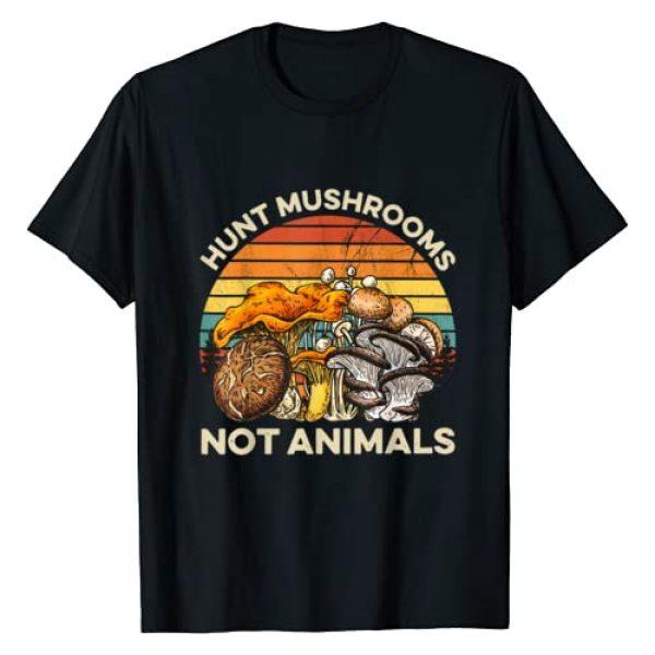 Hunt Mushrooms Not Animals - Vintage Mushrooms Graphic Tshirt 1 Hunt Mushrooms Not Animals - Vintage Mushrooms T-Shirt
