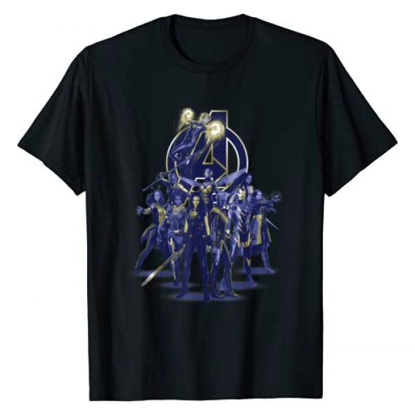 Marvel Graphic Tshirt 1 Avengers: Endgame Female Super Heroes T-Shirt