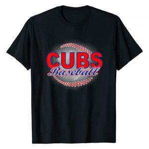 EAST COAST DESIGNS NC Graphic Tshirt 1 Cubs Baseball T-Shirt