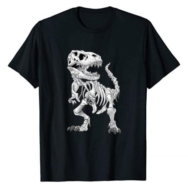 T-Rex paleontology Dinosaur skeleton Gift Graphic Tshirt 1 T-Rex Skeleton Dino bones paleontologist Fossil Dinosaur T-Shirt