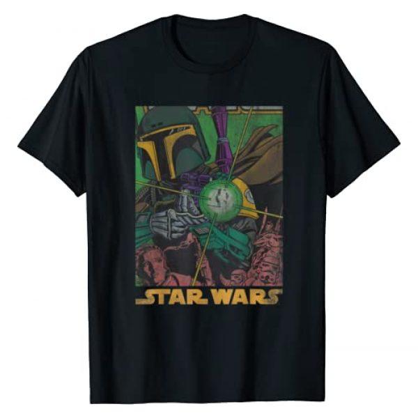 Star Wars Graphic Tshirt 1 Boba Fett Vintage Comic Book T-Shirt