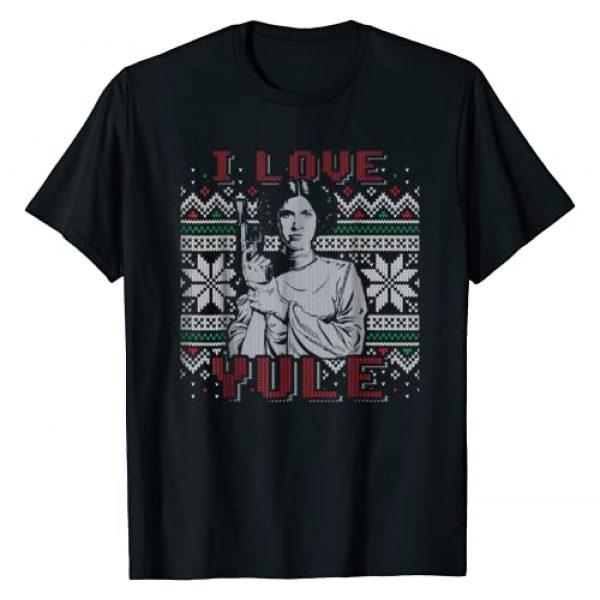 Star Wars Graphic Tshirt 1 I Love Yule Leia Christmas Humor T-Shirt