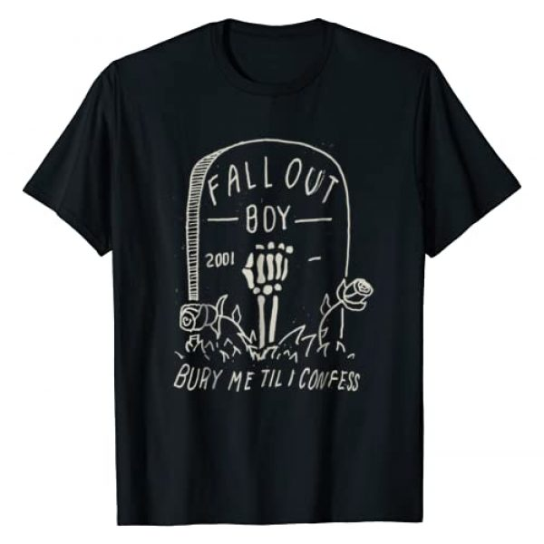Fall Out Boy Graphic Tshirt 1 Mens Fall Out Boy - Confess Tee