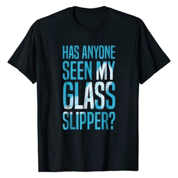 Disney Graphic Tshirt 1 Cinderella Missing Slipper Text Graphic T-Shirt