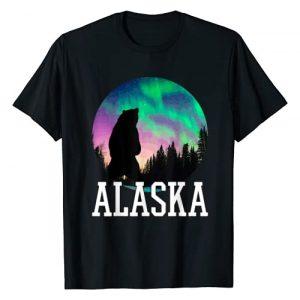 Alaska Alaska Alaska Graphic Tshirt 1 Alaska Nothern Lights Viewing Vacation T-Shirt