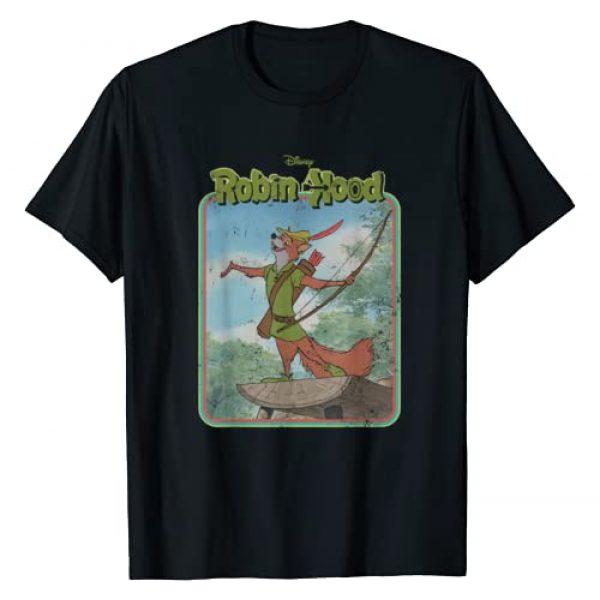 Disney Graphic Tshirt 1 Robin Hood Retro T-Shirt