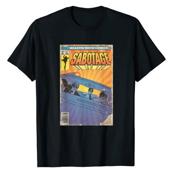 The Top Hat Group Graphic Tshirt 1 Sabotage Comic T-Shirt