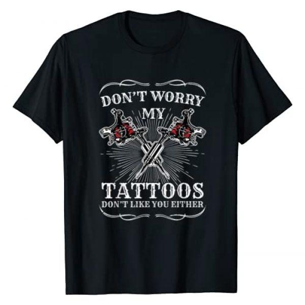 Tattoo Tees & Gifts Graphic Tshirt 1 Tatted Tattoist Inking Tattoo Machine Tattoo T-Shirt