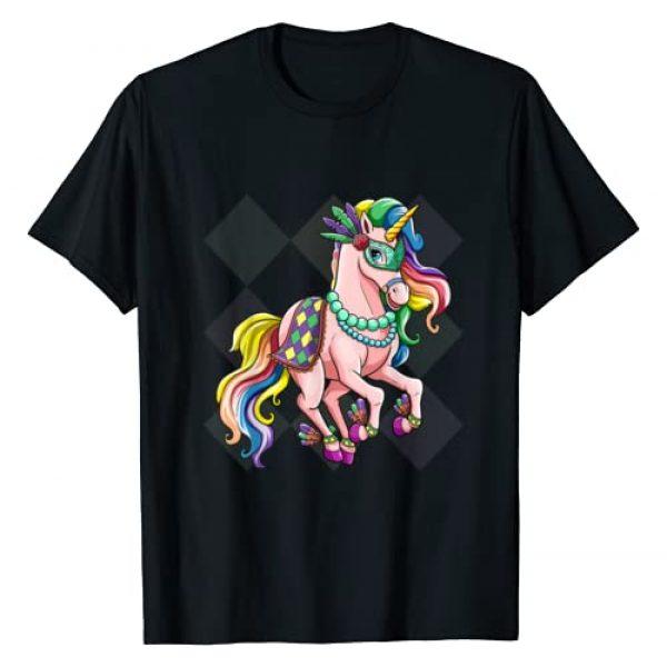 Mardi Gras Shirt Tee Kaboom! Graphic Tshirt 1 Kids Mardi Gras Shirt Cute Unicorn Mask Beads Costume Gift