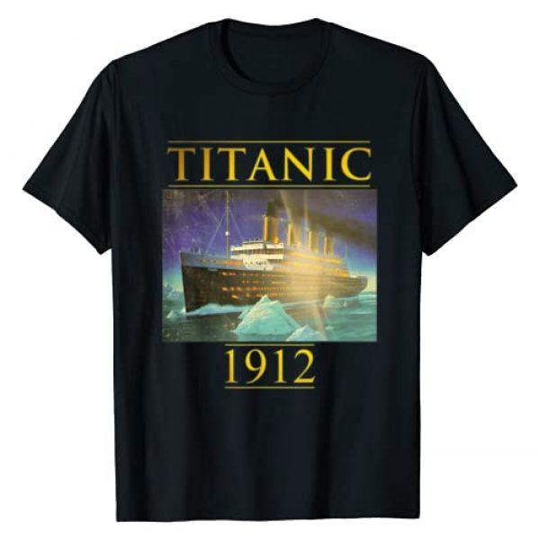Titanic tee Gruzdelli Graphic Tshirt 1 Titanic tshirt Sailing Ship Vintage Cruis Vessel 1912 gift T-Shirt