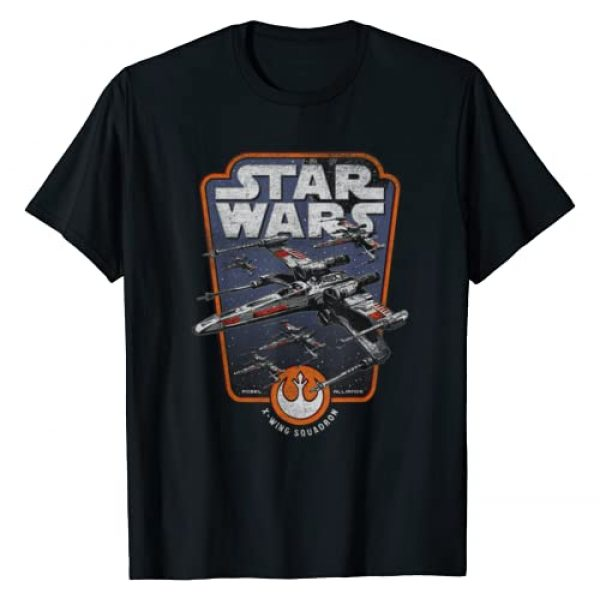 Star Wars Graphic Tshirt 1 X-Wing Red Squadron Graphic T-Shirt