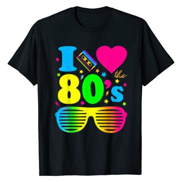 80's Rock Fans Graphic Tshirt 1 I Love The 80s Gift Clothes for Women and Men T-Shirt