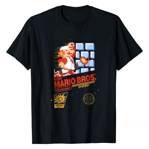 SUPER MARIO Graphic Tshirt 1 Mario Dashin Action Graphic T-Shirt