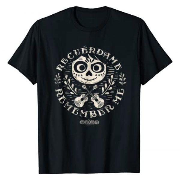 Disney Graphic Tshirt 1 Pixar Coco Miguel Remember Me Graphic T-Shirt