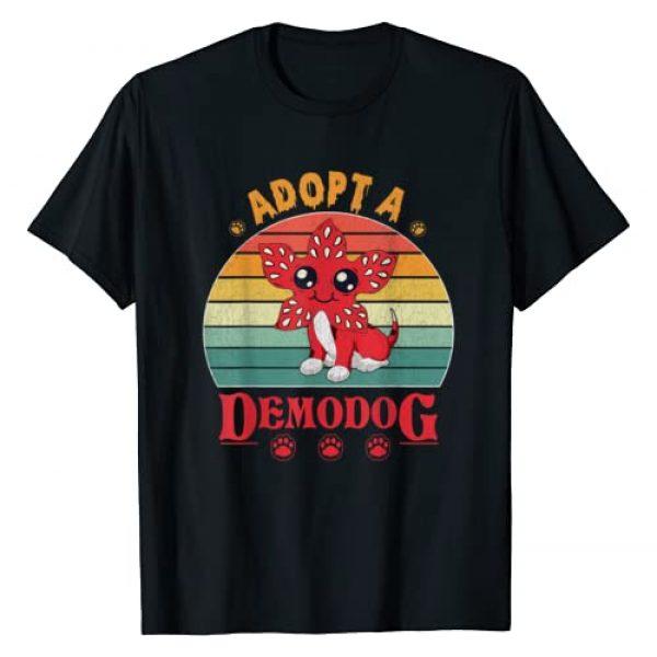 Vintage retro adopt a demodog shirt Graphic Tshirt 1 Adopt a Demodog funny dog lovers gift kids men women T-Shirt