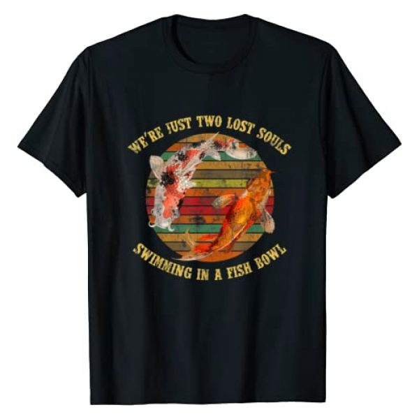 We're Pink Just Two Lost Souls Swimming in A Fish Graphic Tshirt 1 Bowl Floyd T-Shirt