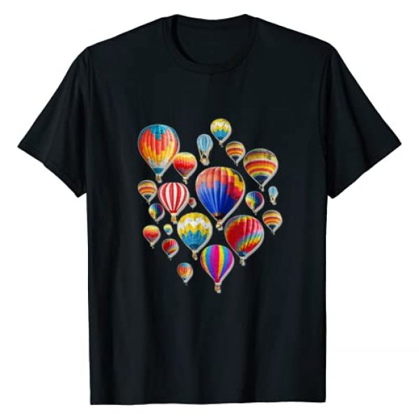 Cool Crazy Extreme Balloon Tees And Gift Idea Graphic Tshirt 1 Hot Air Balloon Fly Ballooning Lover Perfect Fun Gift Idea T-Shirt