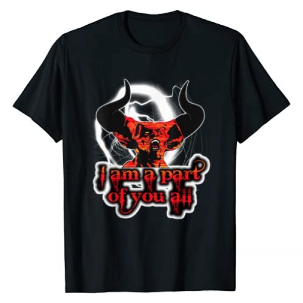 Cosmic Alchemy Graphic Tshirt 1 Legend of Darkness Demon - I am a Part of You All - Retro
