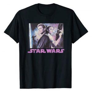Star Wars Graphic Tshirt 1 Padme & Anakin Portrait T-Shirt