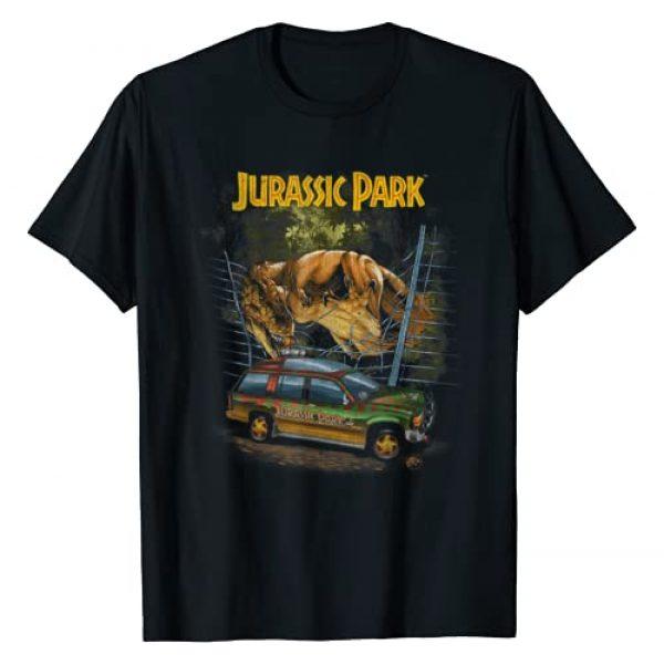 Jurassic Park Graphic Tshirt 1 Vintage T-Rex Break Out Graphic T-Shirt