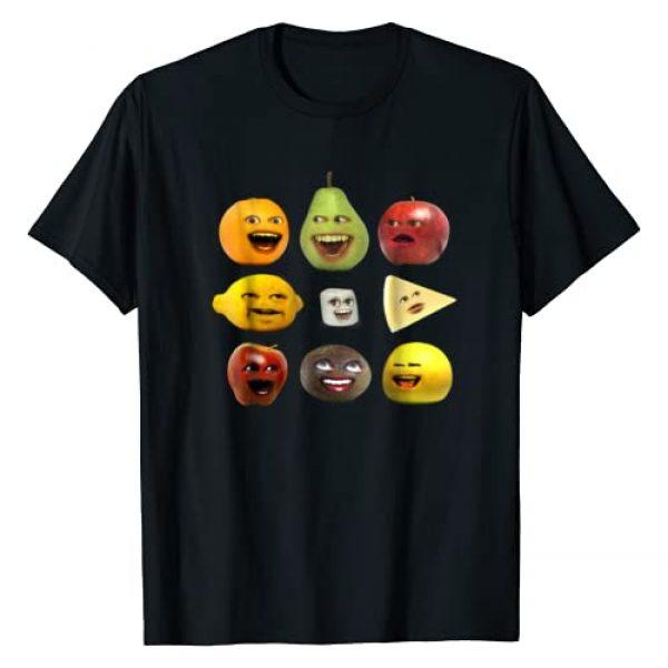 Annoying Orange Graphic Tshirt 1 and Characters T-Shirt