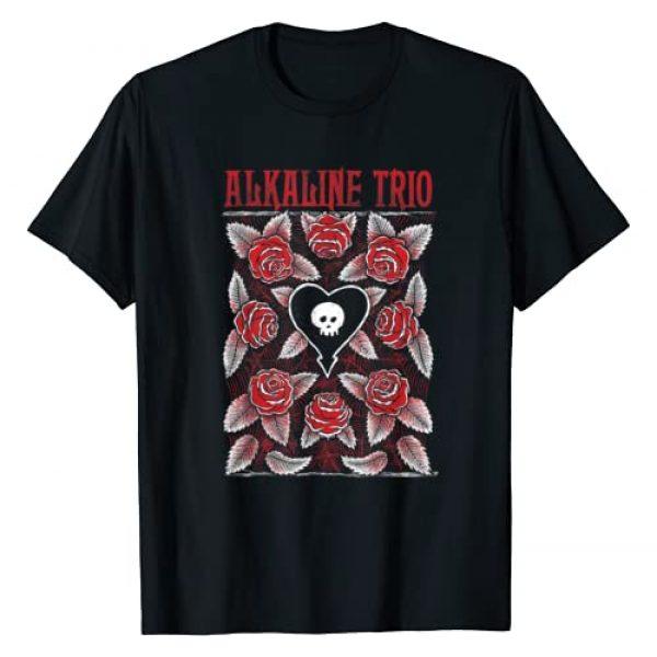 Alkaline Trio Graphic Tshirt 1 Roses - Official Merchandise T-Shirt