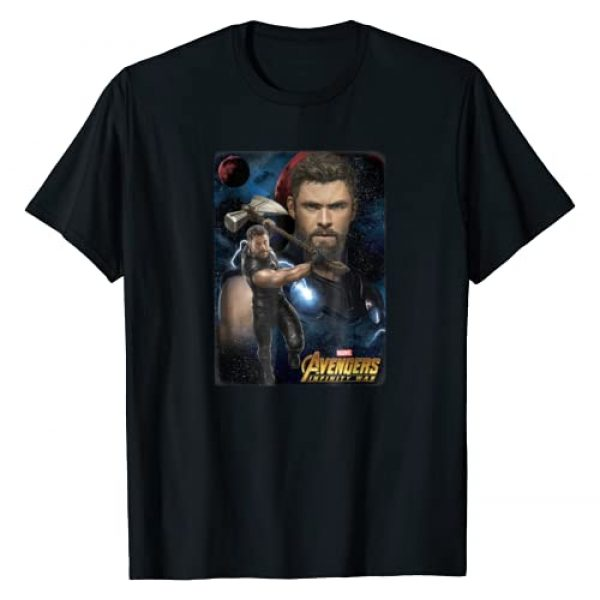Marvel Graphic Tshirt 1 Infinity War Thor Galaxy Protector Graphic T-Shirt