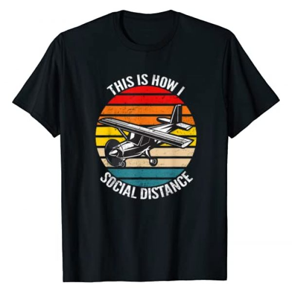 Funny Airplane Aviation Pilot Gifts Graphic Tshirt 1 Funny Retro Vintage Airplane Aviation Pilot Gift T-Shirt