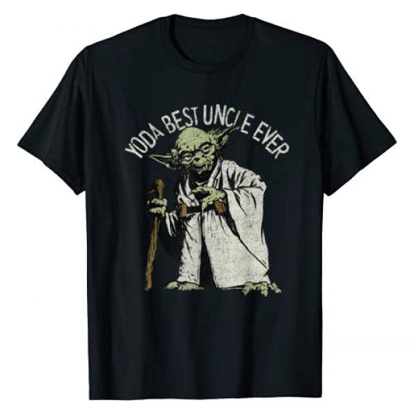Star Wars Graphic Tshirt 1 Yoda Best Uncle Ever Portrait T-Shirt