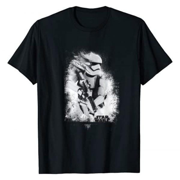 Star Wars Graphic Tshirt 1 The Force Awakens Splatter Stormtrooper T-Shirt