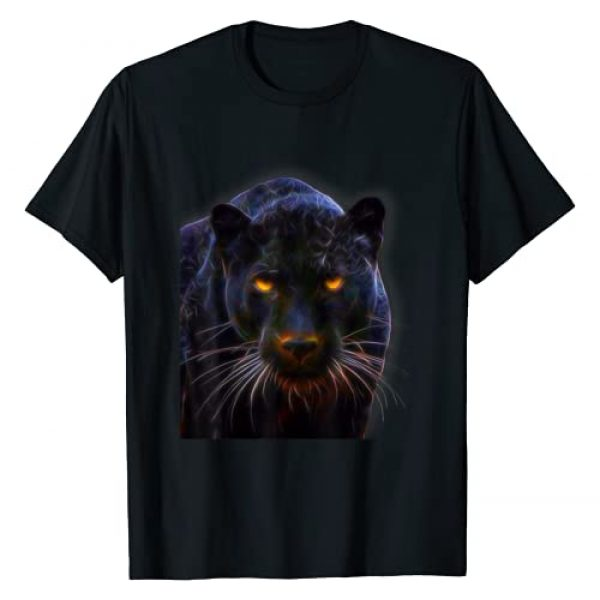 The Love Of Cats Graphic Tshirt 1 Black Panther, Big Cat Tshirt