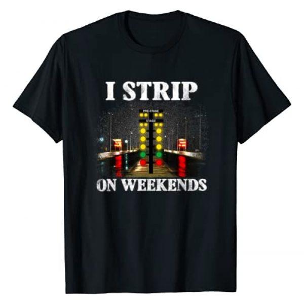 LOVELY TEE Graphic Tshirt 1 I Strip On Weekends Racing Tees