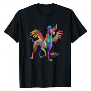 PIXAR Graphic Tshirt 1 Disney PIXAR Coco Dante Alebrije Spirit Animal T-Shirt