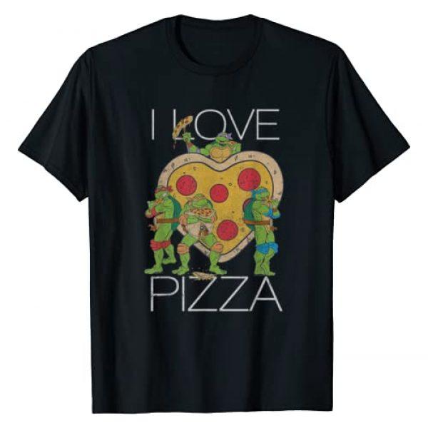 Teenage Mutant Ninja Turtles Graphic Tshirt 1 Pizza My Heart Graphic T-Shirt
